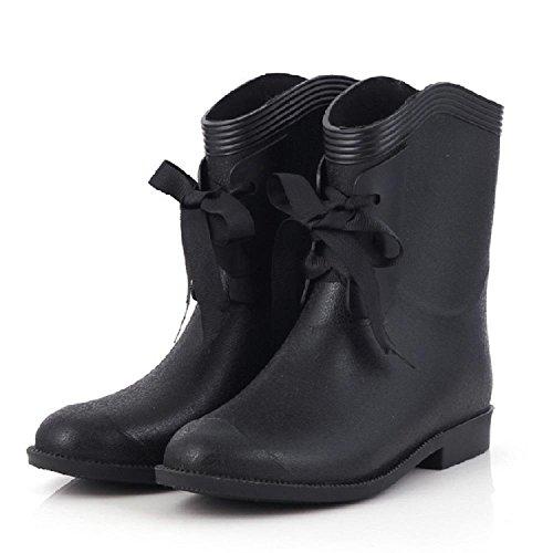 Alger Casual fashion ladies rain boots, 38