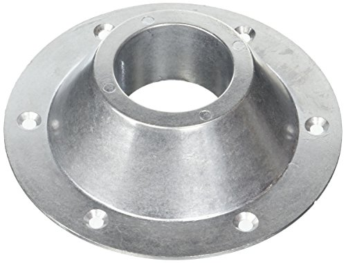 RV Table Base for Under Table Top and Bottom (Aluminum 6-Hole Design)