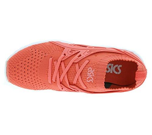 Asics der Herren Das Schwarz Kayano Training Straße auf Laufschuhe Trainer rosa Gel Knit für rrBxwvq