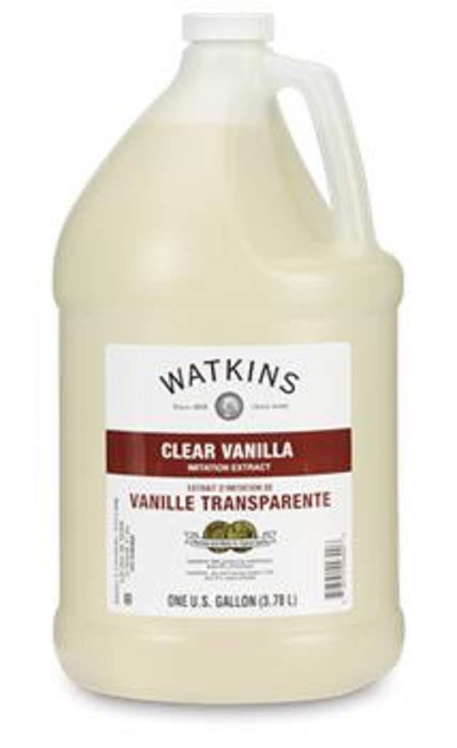 Watkins Clear Double Strength Imiation Vanilla Extract Gallon