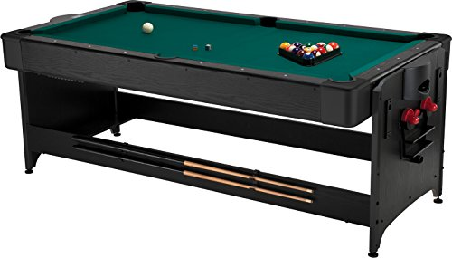 Fat Cat Original 3-in-1, 7-Foot Pockey Game Table (Air Hockey, Billiards and Table