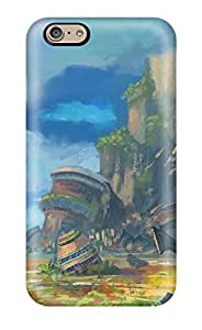 Premium HGippKP26393CNWWo Case With Scratch-resistant/ Landscape Fantasy Abstract Fantasy Case Cover For Iphone 6