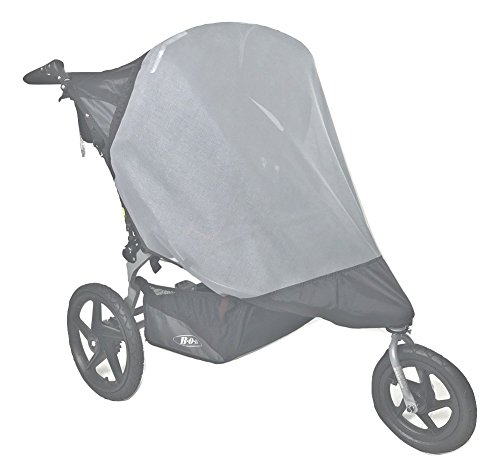 Sashas''See Me See You Series'' Sun Wind and Insect Cover for Bob Revolution Flex Duallie Jogging Stroller by Sasha Kiddie Products (Image #2)