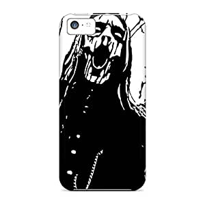 Shock Absorbent Hard Phone Cover For Iphone 5c (vVs16876bNMw) Support Personal Customs Colorful Marilyn Manson Band Pattern