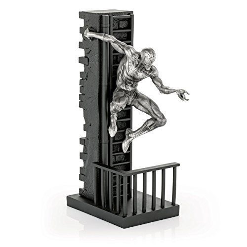 Royal Selangor Hand Finished Marvel Collection Pewter Limited Edition Spider-Man Figurine