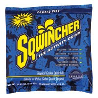 Sqwincher 23.83 Ounce Instant Powder Pack Tropical Cooler Electrolyte Drink -... ()