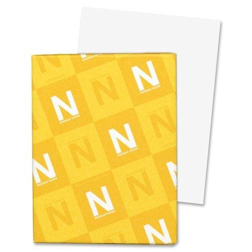 Wholesale CASE of 20 - Wausau Exact 67lb. Vellum Bristol Paper-Exact Vellum Paper,8-1/2''x11'',67lb.,94 Bright,250SH/PK,White by Wau (Image #1)