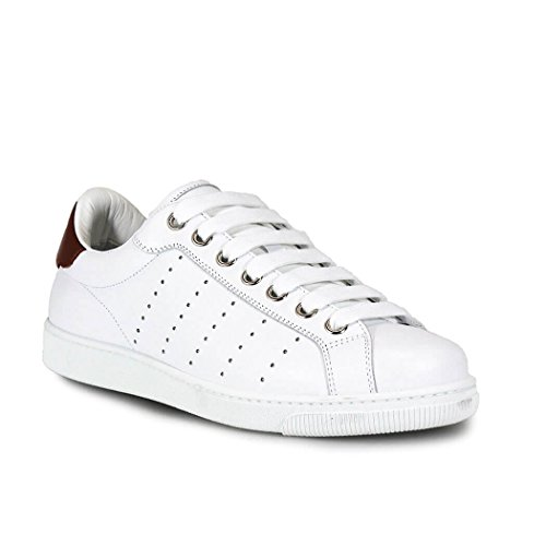 DSQUARED2 SANTA MONICA WITH LEATHER INSERT SNEAKERS