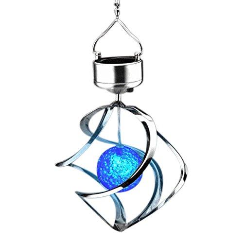 Lightahead Spiral Spinner Solar Glowing
