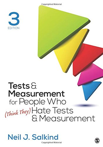 Tests & Measurement for People Who (Think They) Hate Tests & Measurement, 3rd Edition Front Cover