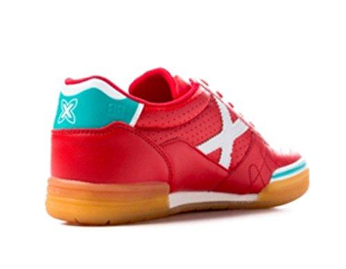Munich Men's Futsal Shoes Red EIuEC