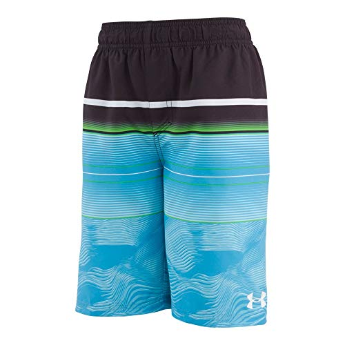 Under Armour Boys' UA Static Stripe Volley Youth X-Large Surfs Up