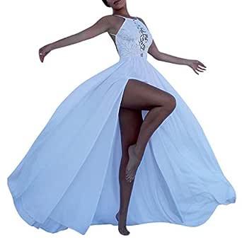 Bibao vestido largo para dama de honor, vestido largo de noche ...