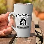 Ceramic Custom Latte Coffee Mug Cup My Best Friend Is Ariegeois Dog Tea Cup 12 Oz Design Only 13