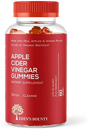Apple Cider Vinegar Gummies for Building Immunity, Detox and Weight Loss (1 Pack, 60 Capsules, Organic and Vegan)… 1
