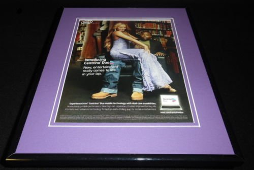 mariah-carey-2006-intel-centrino-duo-11x14-framed-original-advertisement