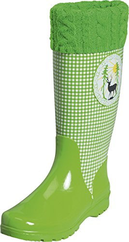29 Zapatillas Verde De Mujer Playshoes grün Por Wellies Deer Casa Caucho Estar w7EqPz1E