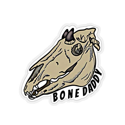 Indoor or outdoor Bone Daddy Kiss-Cut Stickers