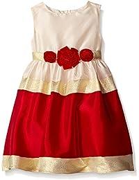 Little Girls' Colorblock Social Dress