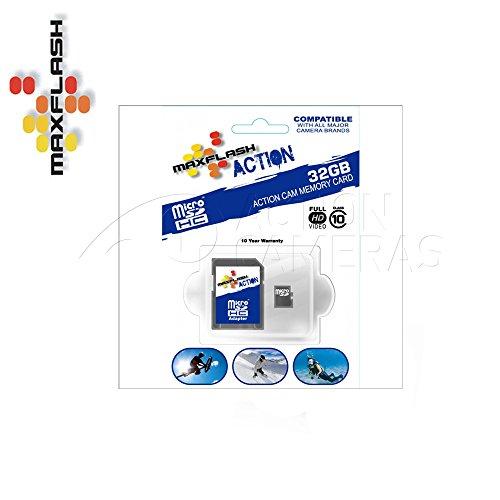 Max Flash Action microSDHC Flash Memory Card - 32gb Class 10