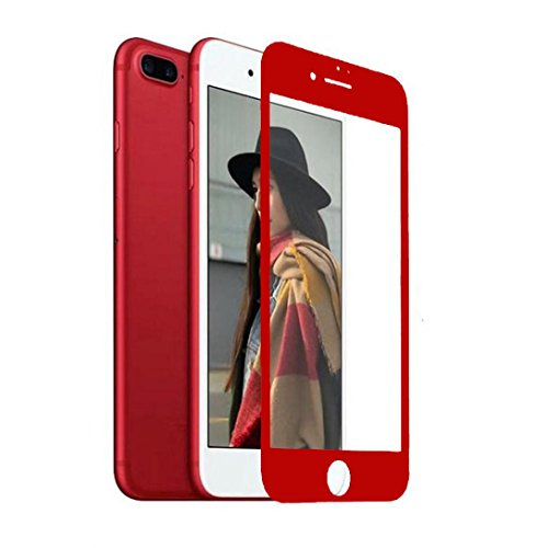 Price comparison product image For iPhone 7 Plus 5.5inch,  Mchoice 3D Curved Full Cover Film Tempered Glass Screen Protector for iPhone 7 Plus 5.5 inch