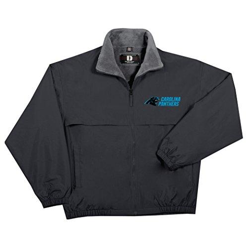 - NFL Carolina Panthers  Triumph Fleece Lined Mid Weight Jacket, Large, Black