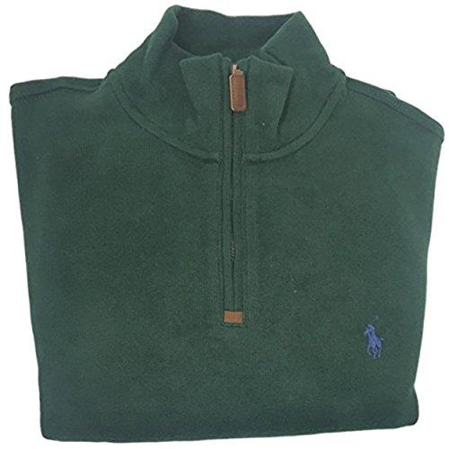 Polo Ralph Lauren Men's Half Zip Ribbed Mock Neck Sweater (S, - Usa Lauren Polo Ralph Online