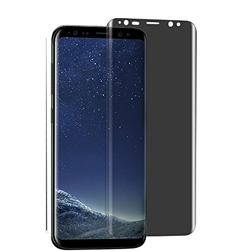 For Samsung Galaxy S9 Plus Privacy Screen Protector-[1 PACK][3D Curved][Anti-Scratch] 9H Hardness Tempered Glass Anti-Spy Screen Protector for Samsung Galaxy S9 Plus G965