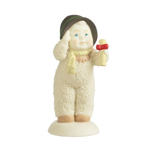 Department 56 Snowbabies Guest Collection Scarecrow Figurine, 3 inch