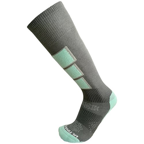 Ultimate Socks Womens Thermolite Ski Snowboard Warm Socks Aqua Medium 7-9.5