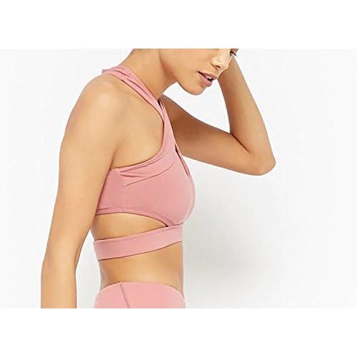 4c773747514 Lokouo Yoga Sports Bra Running Fitness Bra Anti-Sagging Underwear Breathable