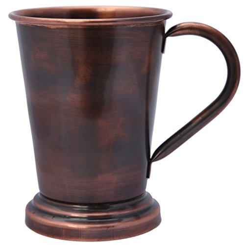 Melange 100% Authentic Copper Artisan Collection Moscow Mule Mug, Antique Finish, Size-16 Oz by Melange