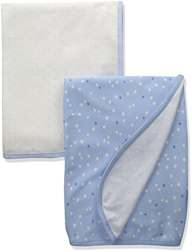 The Children's Place Boys' Swadle Blanket (Pack of 2), Cloudless, No Size