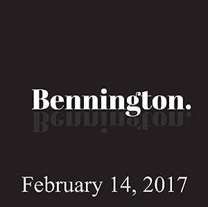 Bennington, February 14, 2017 Radio/TV Program