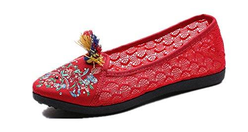 Crown Red Tianrui Tianrui Sandalias Crown mujer EfqfBvw