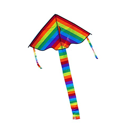 Colorful Rainbow Triangle Kite Outdoor F - Sesame Street Kite Shopping Results