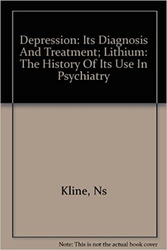 Depression: its diagnosis and treatment: Lithium: the