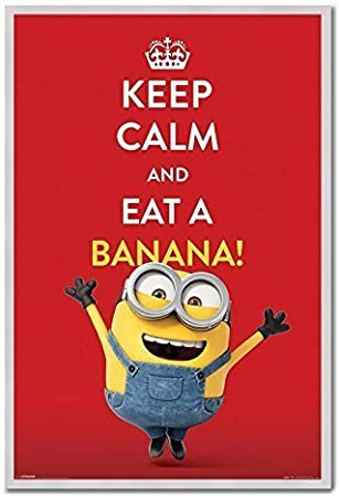 Keep Calm And Eat A Banana Green Printed Mug
