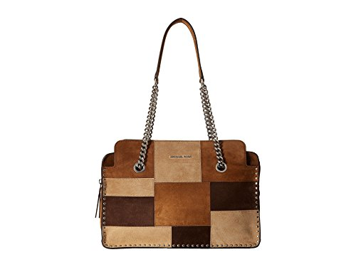 MICHAEL Michael Kors Women's Astor Large Satchel, Dark Caramel, One Size (Michael Michael Kors Astor Large Satchel)