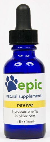 Revive – Increases Energy in Older or Sick Pets Naturally (Dropper, 1 ounce), My Pet Supplies