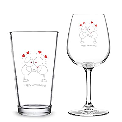 Anniversary Glassware