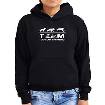 Team german shepherd Women Hoodie