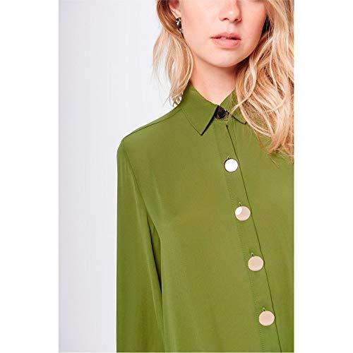 Camisa Longa Feminina  Amazon.com.br  Amazon Moda aa1438bed66ce