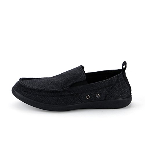 WFL scarpe da scarpe scarpe uomo da di Scarpe casual da uomo scarpe Nero pedali da traspirante uomo tela estate pigri uomo rtqrwF