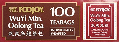 Wu Yi Oolong Tea Wulong Tea 100 Bags Foojoy ()