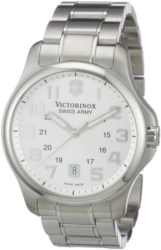 Victorinox Swiss Army Men's SWISSA-241359 Officer's Stainless Steel Watch