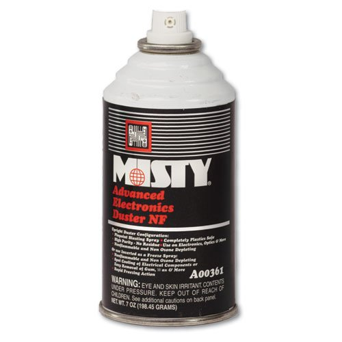 Advanced Electronics Duster (Misty Advanced Electronics Duster, 12 oz. Aerosol Can - 12 12-ounce aerosol cans per case.)
