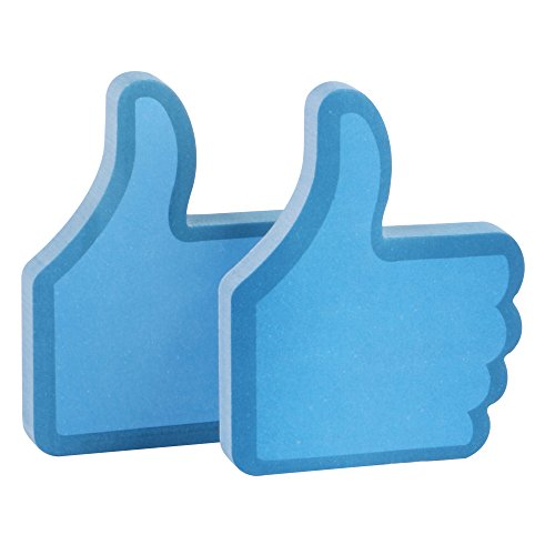 "Eagle ""Thumb Up"" Shape Sticky Notes, 100 Sheets (Blue)"