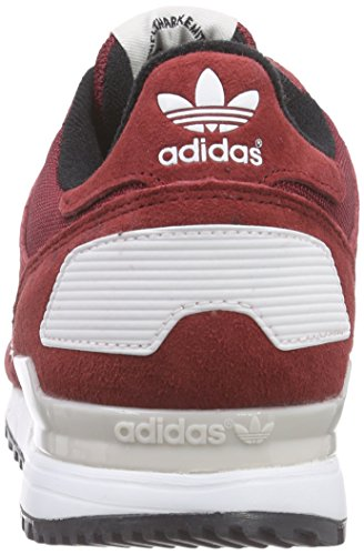 adidas ZX 700, Zapatillas Hombre Rojo (Collegiate Burgundy/Ftwr White/Pearl Grey)