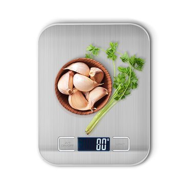 Scurf - Kitchen Scale 5000g Function Lcd Display Electronic Balance - Leaf Weighing Machine Series Musical Measurement Graduated - ()
